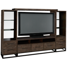 Jofran East Hampton 4 Piece Entertainment Center
