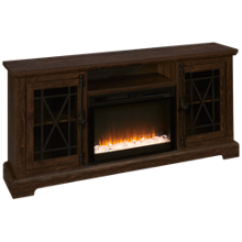 Dimplex Natalie Fireplace Media Console with Ember Firebox
