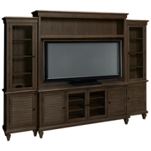 Magnussen Lancaster 4 Piece Entertainment Center