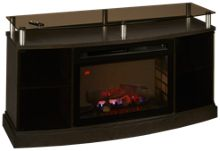 Dimplex Windham Fireplace Media Console with Logs