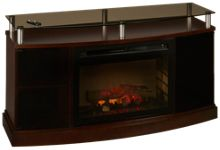 Dimplex Windham Media Console Fireplace with Logs