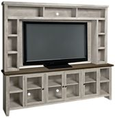 "Aspen Eastport 97"" Console and Hutch"