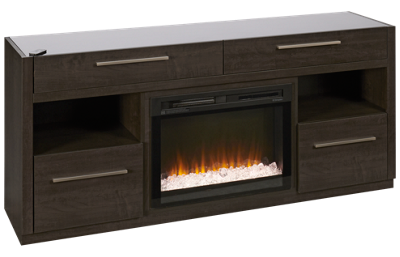 Trend Connect Vienna Fireplace Media Console
