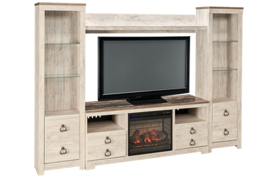 Ashley Willowton 5 Piece Entertainment Center