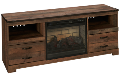 Ashley Trinell Fireplace TV Stand