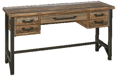 International Furniture Direct Loft Brown Desk
