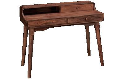 Coast To Coast Imports Brownstone 3 Drawer Desk