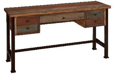 International Furniture Direct Multicolor Writing Desk
