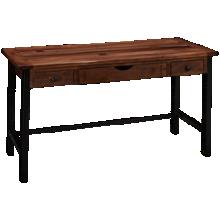 International Furniture Direct Parota Writing Desk