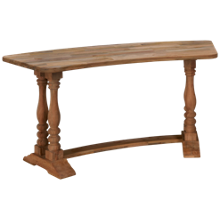 Magnolia Home Curved Desk