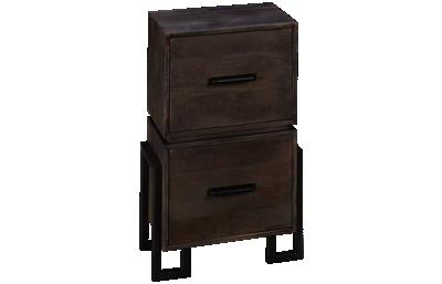 Hekman Loft 2 Drawer File Cabinet