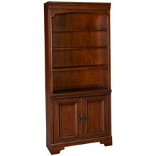 Aspen Richmond Bookcase with Doors