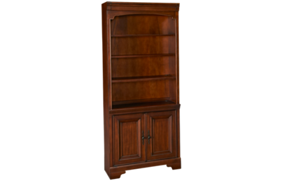 Aspen Richmond Bookcase with Doors
