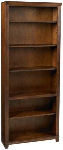 "Aspen   Cambridge 84"" Bookcase"