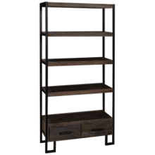 Hekman Loft Etagere with 2 Drawers