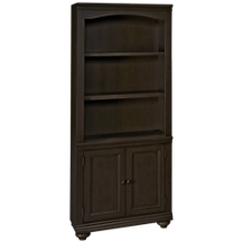 Aspen Oxford Bookcase with Doors