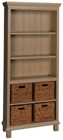 Aspen Preference Open Bookcase