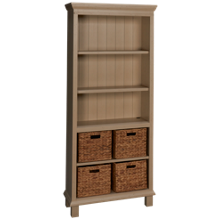 Aspen Preference Open Bookcase