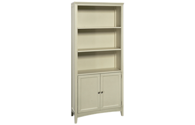 A America Northlake Bookcase with 2 Lower Doors