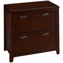 Martin Furniture Tribeca Cherry Lateral File Cabinet