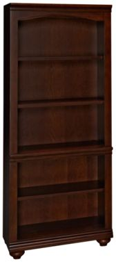 Aspen Oxford Open Bookcase