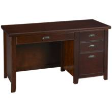 Martin Furniture Tribeca Single Pedestal Desk