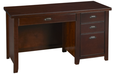Martin Furniture Tribeca Single Pedestal Desk