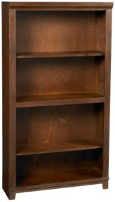 "Aspen   Cambridge 60"" Bookcase"