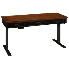 Martin Furniture Hartford Power Desk and Base