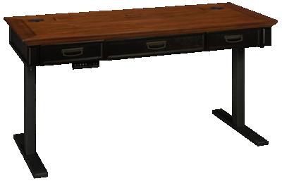 Martin Furniture Hartford Power Sit/Stand Adjustable Desk