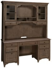 Riverside Myra Credenza with Hutch