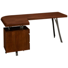 Hekman Boulder Desk with File