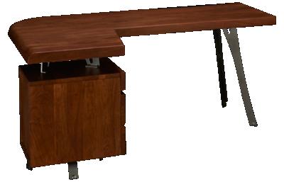 Hekman Boulder Desk with File