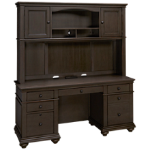 Aspen Oxford Credenza and Hutch