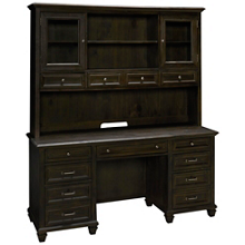 Magnussen Sutton Place Credenza and Hutch