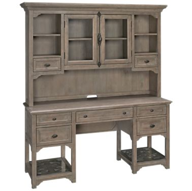Magnussen Tinley Park Magnussen Tinley Park Desk With Hutch