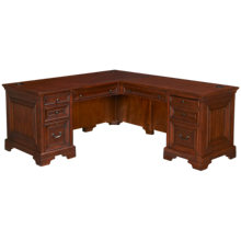 Aspen Richmond Desk with Return