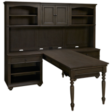 Aspen Oxford Modular Desk and Hutch