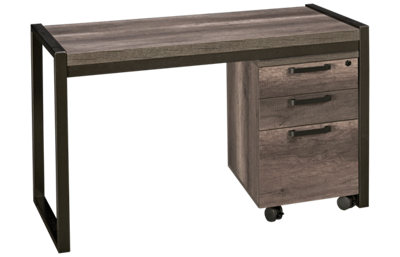 Liberty Furniture Tanners Creek Desk and File Cabinet