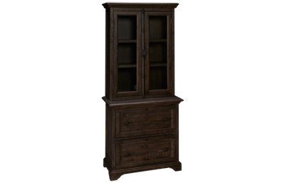 Magnussen Bellamy Lateral File with File Cabinet Hutch