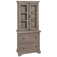 Magnussen Tinley Park Lateral File and Cabinet Hutch