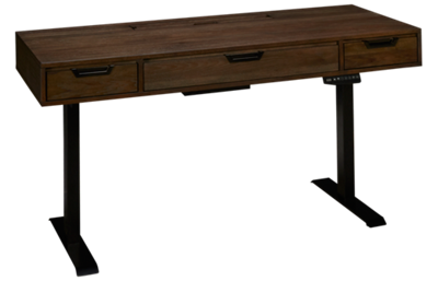 Aspen Harper Point Sit and Stand Adjustable Desk