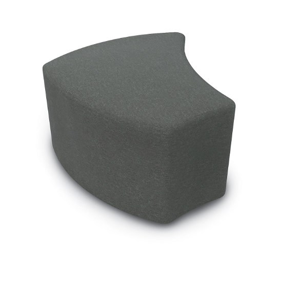 Essentials by MooreCo: Economy Shapes Upholstered Stool (29