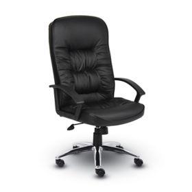 boss office products boss b7301 high back leatherplus chair b7301
