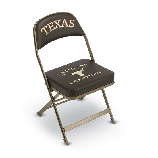 Pleasing Custom Dual Color Logo Imprinted Folding Chair W 3 Thick Seat Theyellowbook Wood Chair Design Ideas Theyellowbookinfo
