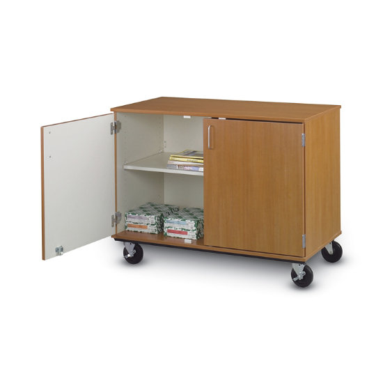 36 H Colorful 4 Shelf Mobile Storage Cabinet Cmcs 362sd K Log