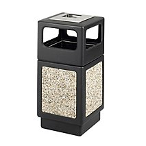 Canmeleon Aggregate Panel Ash Urn in Black ID 37284