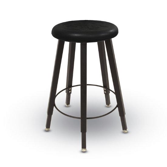 Astounding Mighty 5 Leg Adjustable Height Backless Stool W Urethane Seat Inzonedesignstudio Interior Chair Design Inzonedesignstudiocom