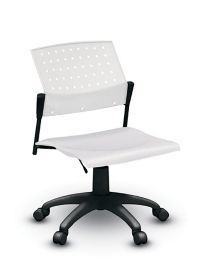 Sonic™ Task Chair With Plastic Seat U0026 Plastic Back   Low Back   Armless