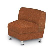 Accompany Metal Leg 30° Curved Chair, Inside Facing (Grade 2-Fabric)
